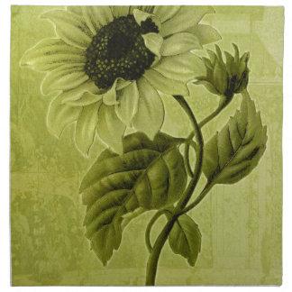 Helianthus del girasol servilleta de papel