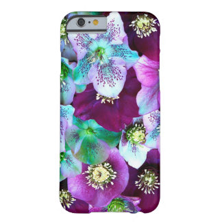 Heliborus pattern of winter blooming flower, barely there iPhone 6 case