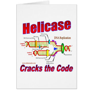 Helicase Cracks the Code Card