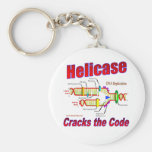 Helicase Cracks the Code Keychains