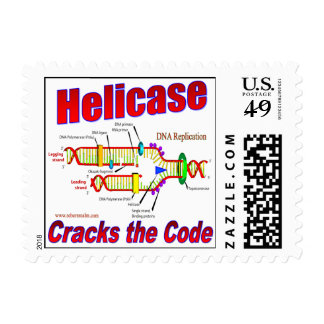 Helicase Cracks the Code Postage