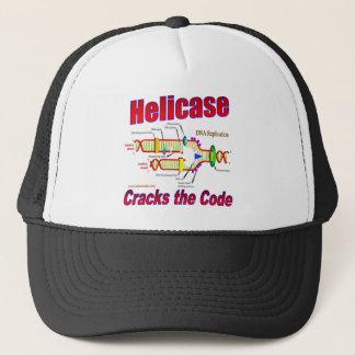 Helicase Cracks the Code Trucker Hat