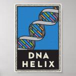 Hélice de la DNA Impresiones