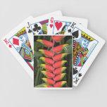 Heliconia aclara naipes cartas de juego