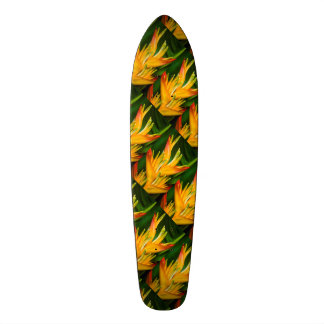 Heliconia Bird of Paradise Flower Photography Skateboard Deck
