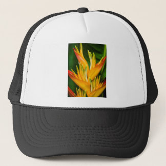 Heliconia Bird of Paradise Flower Photography Trucker Hat