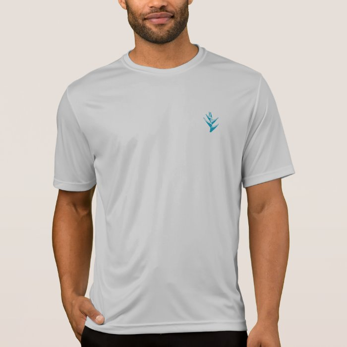 Heliconia Blue Dri Fit T-Shirt
