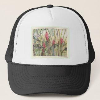 Heliconia Bush Trucker Hat
