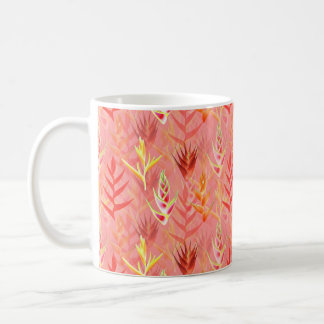 Heliconia Flowers Coffee Mug