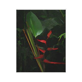 Heliconia Plant Canvas Print