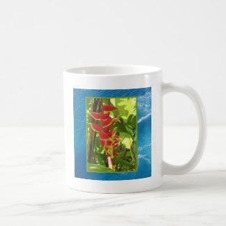 Heliconia rostrata coffee mugs