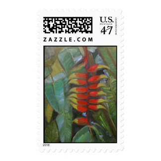 Heliconia Stamp