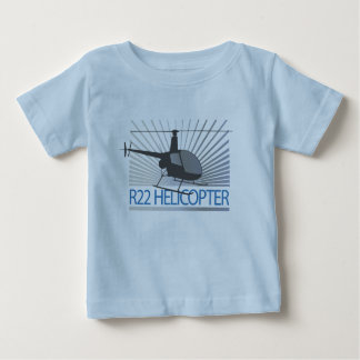 Helicopter Aircraft Baby T-Shirt