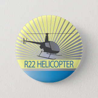 Helicopter Aircraft Button