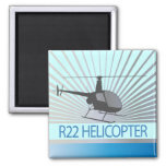 Helicopter Aircraft Fridge Magnets
