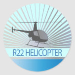 Helicopter Aircraft Sticker
