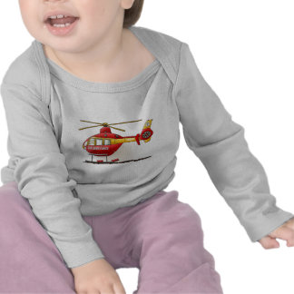 Helicopter Ambulance Baby T-Shirt
