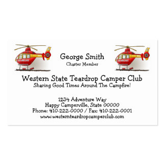 Helicopter Ambulance Business Card Templates