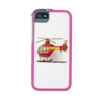 Helicopter Ambulance Cover For iPhone 5