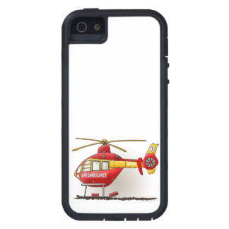 Helicopter Ambulance Case For iPhone SE/5/5s