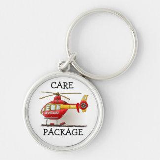 Helicopter Ambulance Keychains