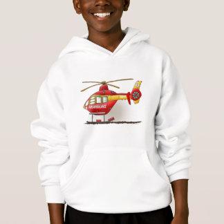 Helicopter Ambulance Kids Sweatshirt