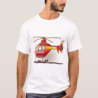 Helicopter Ambulance Ladies T-Shirt