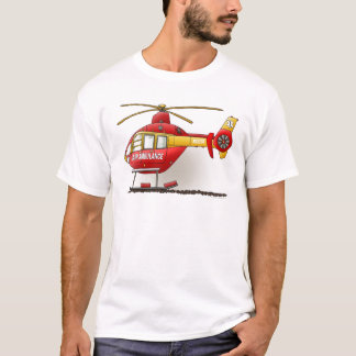 Helicopter Ambulance Mens T-shirt