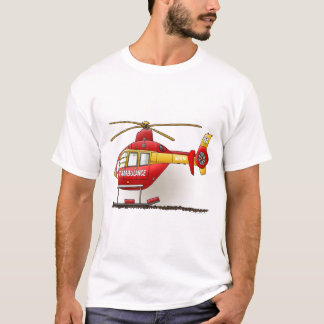 Helicopter Ambulance Mens Tank Top