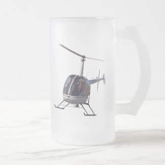 Helicopter Beer Glass Flying Chopper Mugs Steins