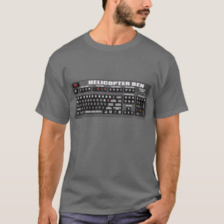 Helicopter Ben's Keyboard T-Shirt
