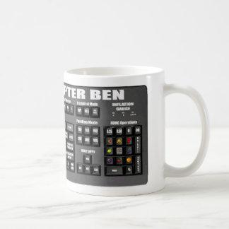 Helicopter Bernanke Keyboard Mug