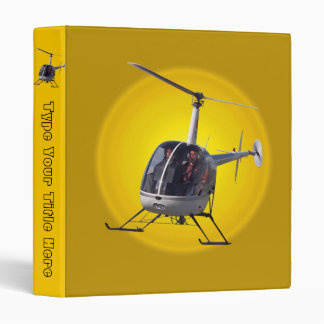 Helicopter Binder Cool Helicopter Book Binders