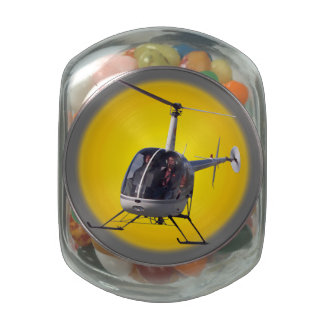 Helicopter Candy Jar Helicopter Pilot Gifts Decor
