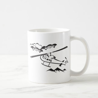 helicopter chopper search and rescue mugs