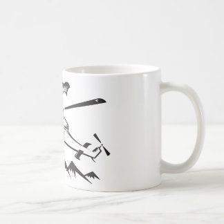 helicopter chopper search and rescue coffee mugs