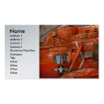 Helicopter - Coast guard helicopter Double-Sided Standard Business Cards (Pack Of 100)