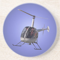 Helicopter Coasters Cool Helicopter Keepsake
