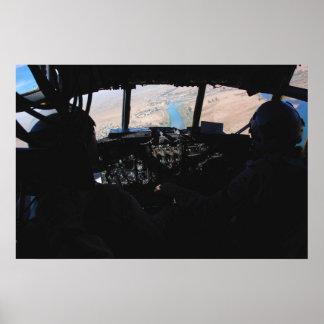 Helicopter Cockpit Print