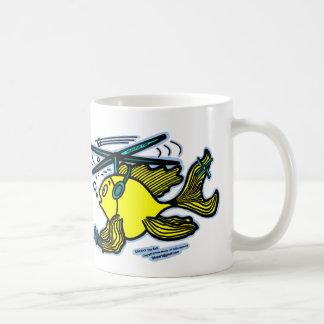 Helicopter Fish Coffee Mug