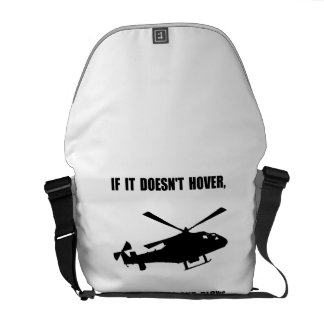 Helicopter Hover Courier Bag