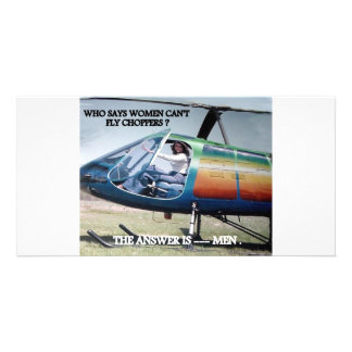 HELICOPTER HUMOR 1 PHOTO CARDS