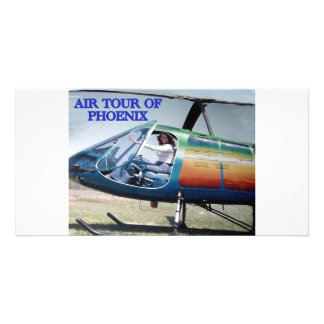 HELICOPTER HUMOR PHOTO CARD TEMPLATE