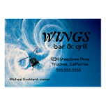 Helicopter In Flight-Clouds Large Business Cards (Pack Of 100)