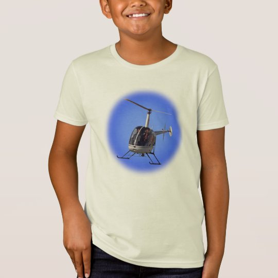 Helicopter Kid's T-shirt  Kid's Helicopter Shirt