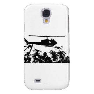 helicopter palm trees samsung galaxy s4 cover