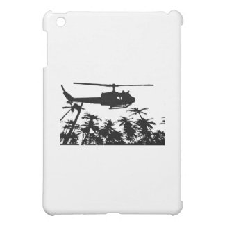 helicopter palm trees iPad mini cover
