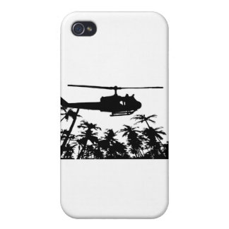 helicopter palm trees cover for iPhone 4