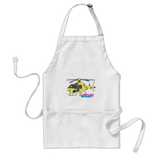 Helicopter Pilot Adult Apron