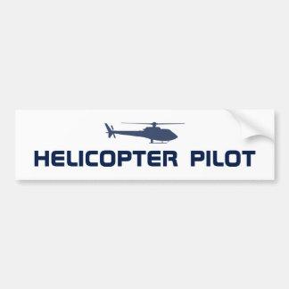 Helicopter pilot bumper sticker